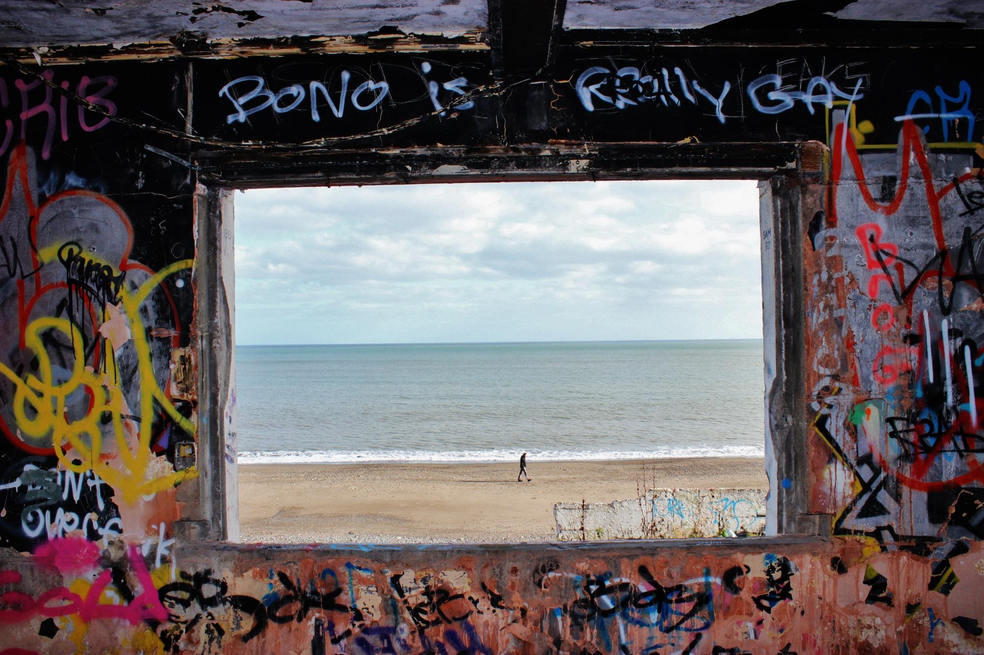 Abandoned Killiney Beach Tea Rooms, Dublin (Ireland) - Derelict World Photography - Lainey Quinn