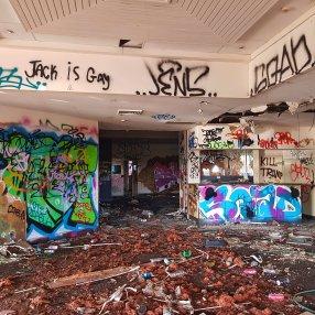 Abandoned Balmain Tigers League Club